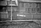 Gradient Post at Abbeyhill Station, Edinburgh  -  early-1964