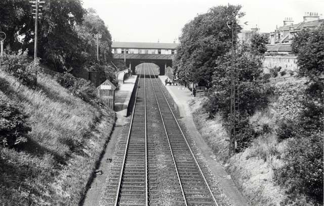 Granton Road Station  -  1934