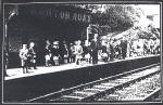 Granton Road Station Platform  -  When might this photograph have been taken?