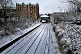 Morningside Road Station  -  Snow  -  December 24, 2009
