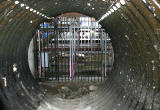 Scotland Street Tunnel  -  The southern end of the Tunnel  -  Photographed 2006