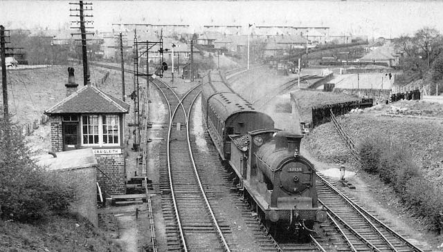 Craigleith Station  -  1958