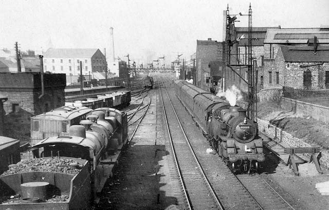 Edinburgh Railways  -  Dalry Road Depot  -  April 1955