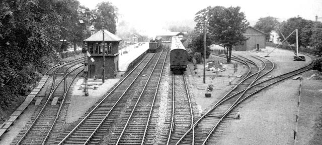 Edinburgh Railways  -  Barnton Station  -  1934