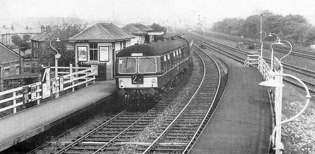 Edinburgh Raliways  -  Balgreen Halt  -  1967