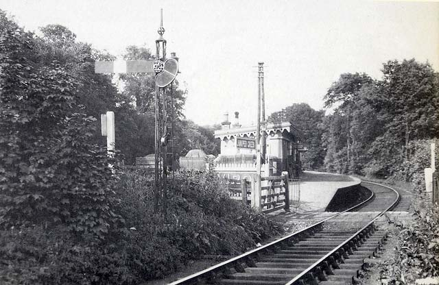 Edinburgh Railways  -  Juniper Green Station  -  1934