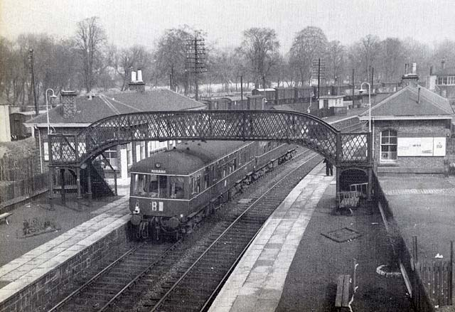 Edinburgh Railways  -  Duddingston & Craigmillar Station  -  1938
