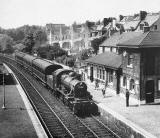 Edinburgh Railways  -  Blackford Hill Station  -  1958