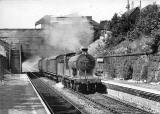 Edinburgh Railways  -  Craiglockhart Station  -  1955