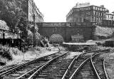 Scotland Street Station photographed around 1960