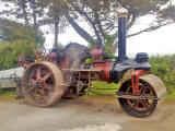 Former Edinburgh Corporation Steam Roller, Reg No SF 5348 - now owned by Mark Fellows, Cornwall