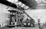 Edinburgh Cable Car - About to be restored - 1987