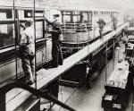 Shrubhill Repair Shop  -  Double Deck Trams