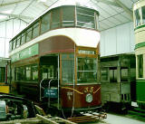 Edinburgh Transport Tram  -  Preserved Tram, No 35.