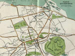 Map from the early 1900s  -  including railways