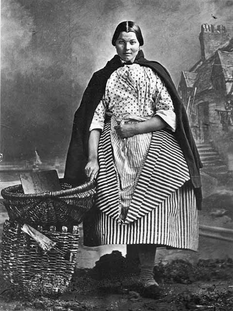 Newhaven Fishwife - Photograph by Begbie