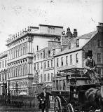 Princes Street and  Coach - Photograph by Begbie
