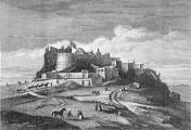 Engravings of Edinburgh Castle  -  from Old & New Edinburgh, published 1890