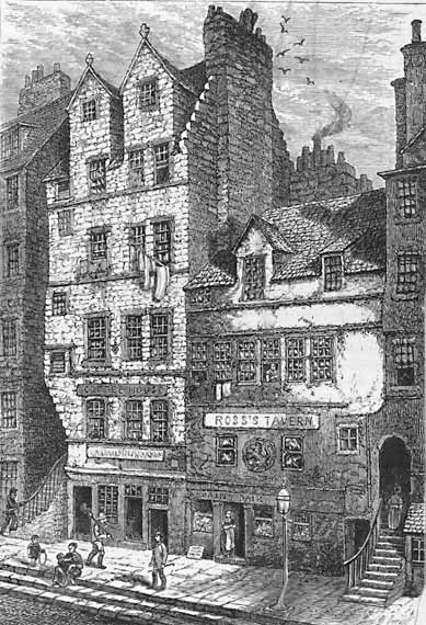 West Point >> Engravings in 'Old and New Edinburgh' - Gladstone's Land