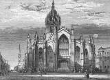 Engraving in 'Old & New Edinburgh'  -  St Giles Cathedral