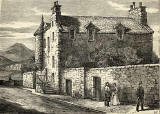 Croft-an-Righ house at Abbey Hill, near Holyrood
