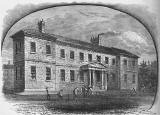 Engraving from 'Old & New Edinburgh'  -  The High School  -  the second building  -  1820