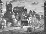 Engraving from 'Old & New Edinburgh'  -  Potterow