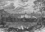 Engraving from 'Old & New Edinburgh'  -  The Burgh Loch