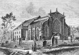 Engraving from 'Old & New Edinburgh'  -  Greyfriars Church