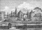Engraving from 'Old & New Edinburgh'  -  Tanfield Hall