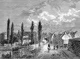 Engraving from 'Old and New Edinburgh'  - Restalrig