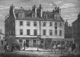 Engraving from 'Old & New Edinburgh'  -  Halfway House