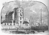 Leith Docks  - Old Engravings