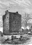 Engraving from 'Old & New Edinburgh'  -  Liberton