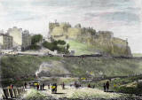 Engraving by Lizars after Ewbank  -  undated  -  Edinburgh Castle