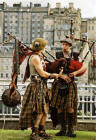 Street Entertainment at Edinburgh Festival 2003  -   Pipers 1