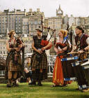 Street Entertainment at Edinburgh Festival 2003  -  Pipes & Drums 2