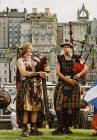 Street Entertainment at Edinburgh Festival 2003  -  Pipers 2