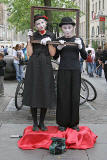 Edinburgh Festival, 2006  -  Street Entertainers