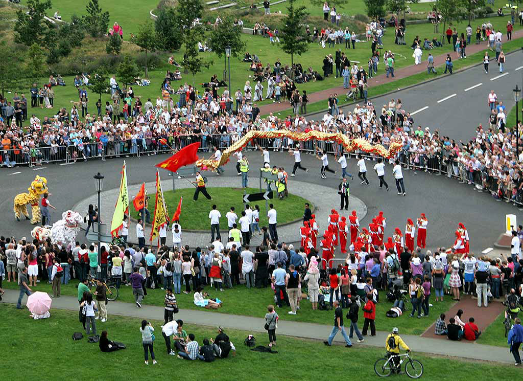 Edinburgh Festival Parade in Holyrood Park  -  August 9, 2009