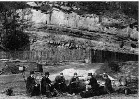 EPS Outing to Blackford Glen  -  1890  -  Photographer not known