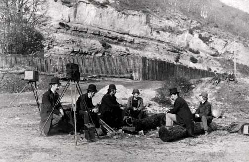 EPS Outing to Blackford Glen  -  1890  -  Photograoher Inglis