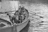 Students at Leith Nautical Collect in 1951