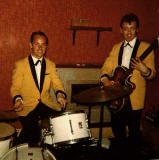 Andy Russell Seven at The Imperial Hotel, Leith Walk in the early-1960s