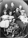 Alexander Ayton's wife and eight of his children