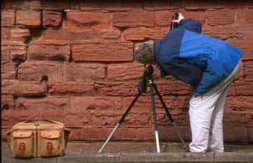 Photographer on the EPS Outing to Bamburgh Castle  -  1997