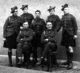 Soldiers from the Black Watch Regiment