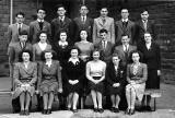 Boroughmuir School  -  Class 5C in 1948 (or possibly VI Form, 1948-49)