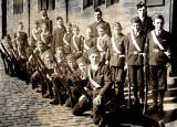 Boys' Brigade, 1st Leith Company  -  Before Annual Inspection, 1906