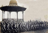 Boys' Brigade  -  1st Leith Co at Battalion Inspection in Victoria Park, 1908